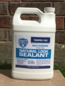 TSSPRO 100 Concrete Brick Sealer Natural Finish