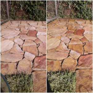 Specialty Sealer For Flagstone Surfaces