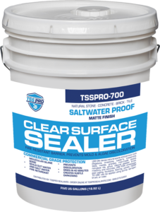 TSSPRO 700 Clear Shield Sealer - 5 Gallon