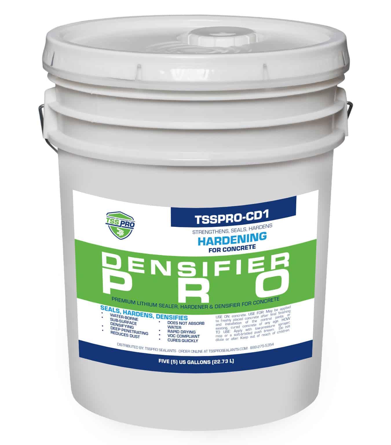 TSSPRO CD1 Concrete Sealer, Hardener, and Densifier (5